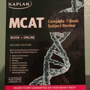 Kaplan MCAT 7-Book Subject Review (2nd Edition)